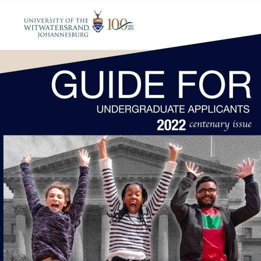 Wits University Prospectus 2022 (Download PDF)