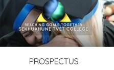 Sekhukhune TVET College Prospectus 2022 (Download PDF)