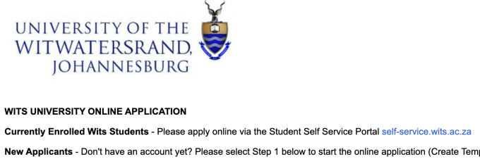 Wits University Online Applications 2022 | Apply to Wits