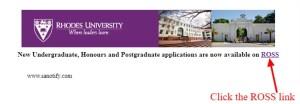 Rhodes University Online Application