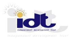 Independent Development Trust Internship Opportunity 2021 Is Open