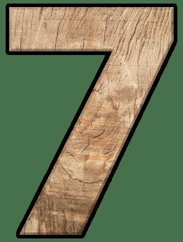 Числата в сънищата - Седем