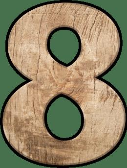 Числата в сънищата - Осем