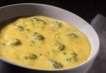 Супа със сирене и броколи