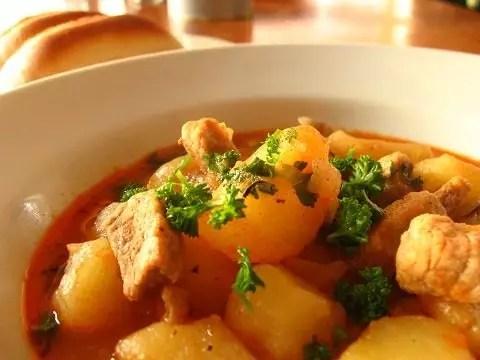 Бърза рецепта със свинско месо