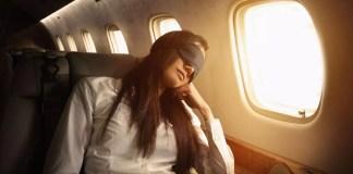 Перфектен сън по време на полет