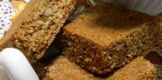 Постен сладкиш с орехи и мед