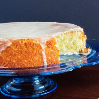 Torta Alla Glassa D'arncia (Cake with Orange Frosting)