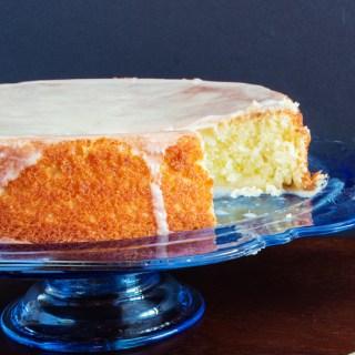 Torta Alla Glassa D'arncia (Cake with Orange Frosting)