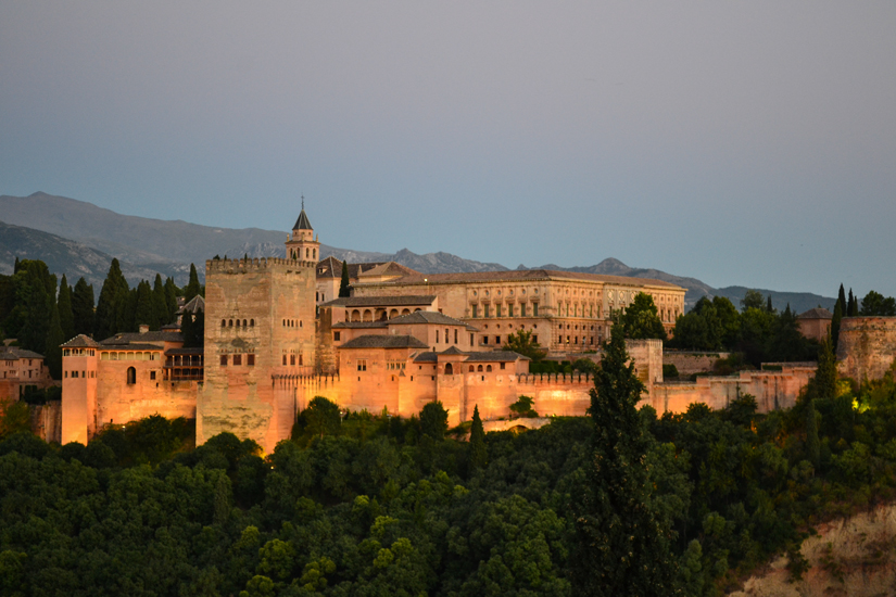 alhambra-at-sunset