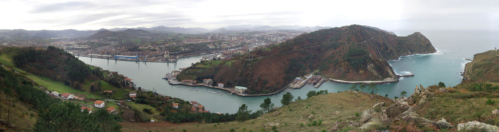 sanpedrotarra Pasaiako portua herria