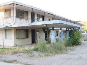 The Travel Inn at 330 N. Main is the largest and most visibly blighted structure on Main Street in Ephraim. The city council has been discussing the property on and off for five years.