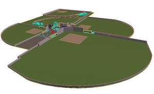 An artist's rendition of the new design for the Gunnison Valley High School recreation complex.