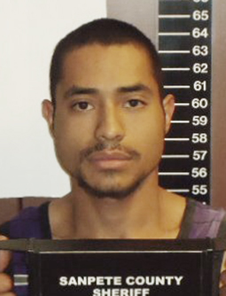 Oscar Garcia was found hiding in his own trunk after fleeing from sheriff's deputies in Fairview.