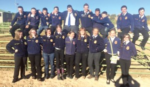 The Gunnison Valley High Future Farmers of America chapter after their state victory in Cedar City on Sept. 29.