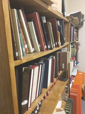 Books like these may soon be even more antiquated than they already are. In an effort to preserve their historical archives, the Manti City Public Library is hoping to digitize all of these historical records in the near future. - Matt Harris / Messenger photo