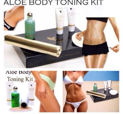 Aloe Body Toning Kit bộ mát xa làm thon gọn cơ thể Lô Hội Aloe Vera 1