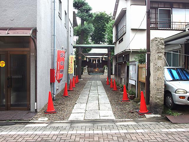 小石川諏訪神社写真