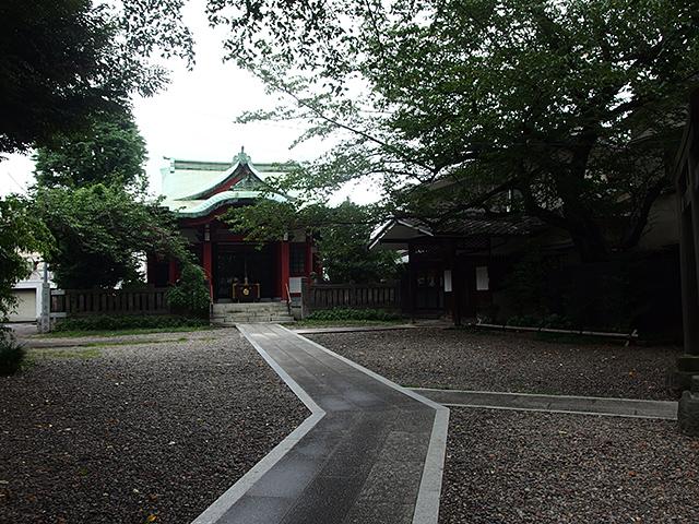 筑土八幡神社写真