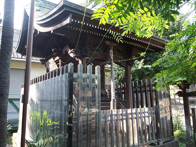 鮫洲八幡神社写真