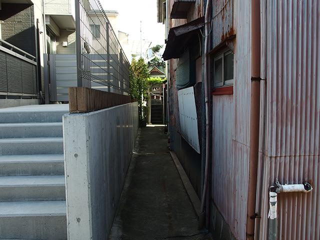 白山神社(横浜市神奈川区浦島町)写真