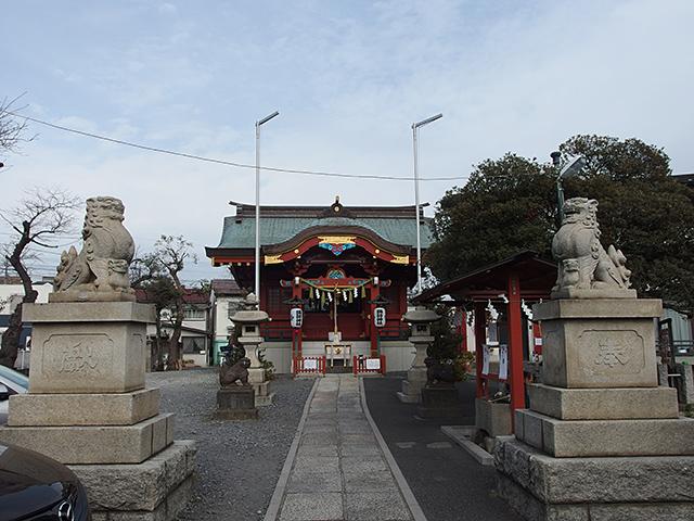 多摩川諏訪神社写真
