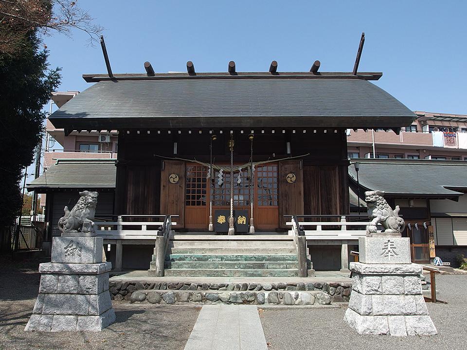日枝神社(鵜野森)