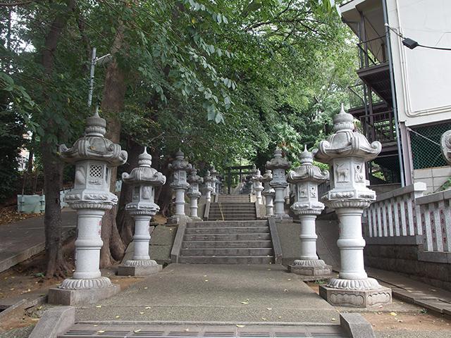 馬絹神社写真