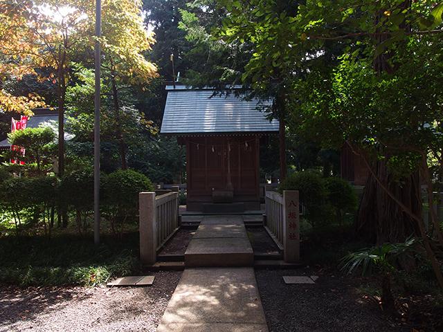 相州下鶴間諏訪神社写真