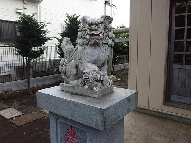 第六天神社(大和市下鶴間)写真