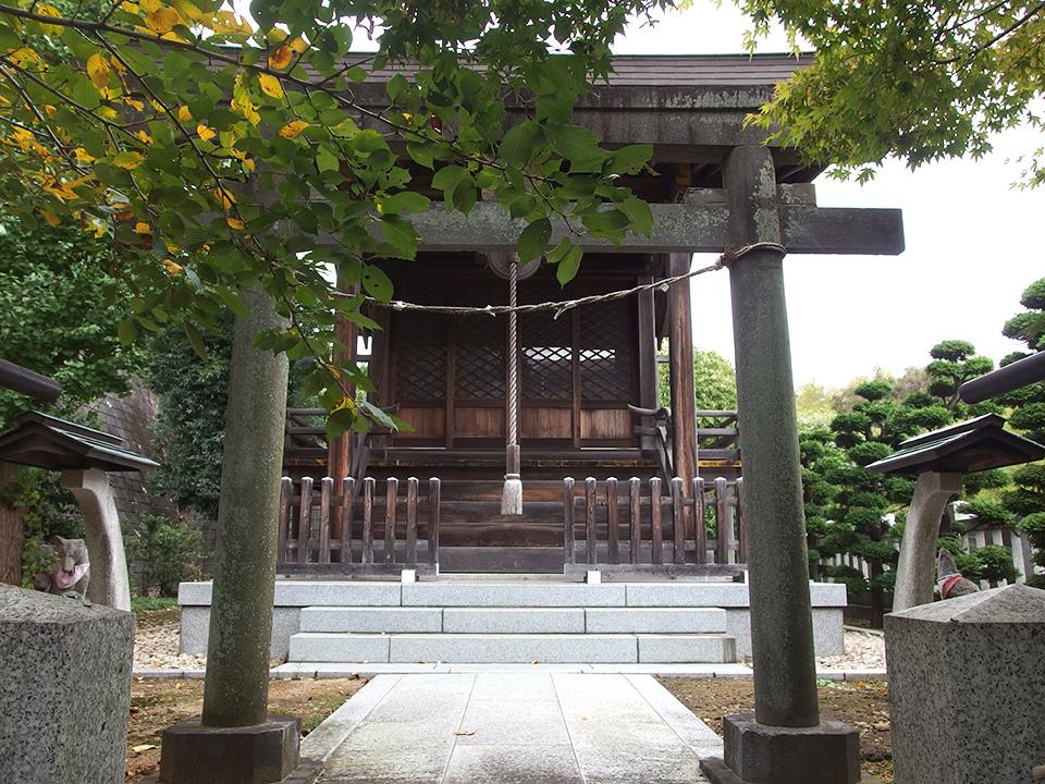正一位稲荷大明神(横浜市都筑区勝田町)