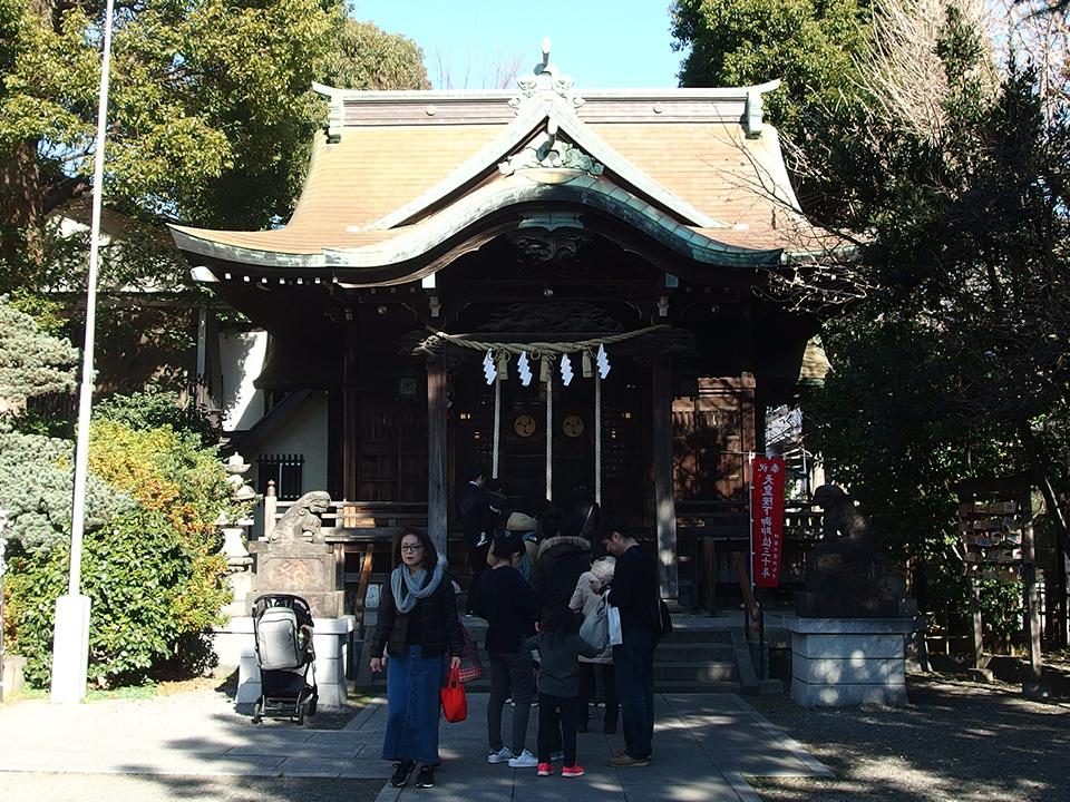 住吉神社(川崎市中原区木月)
