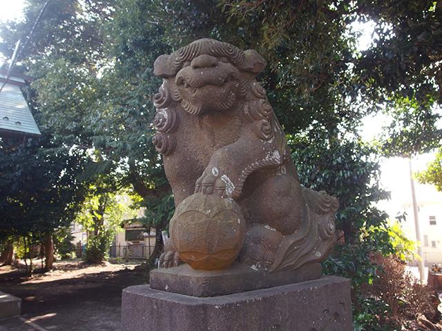 羽沢神明社写真