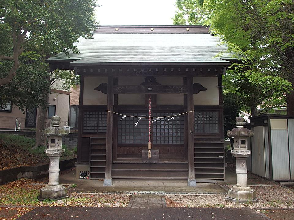 神明社(横浜市青葉区あざみ野)