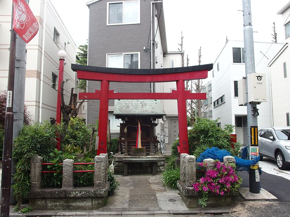 赤松稲荷(大田区南千束)