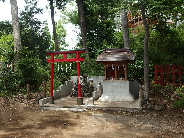 浅間神社(八王子市台町)写真