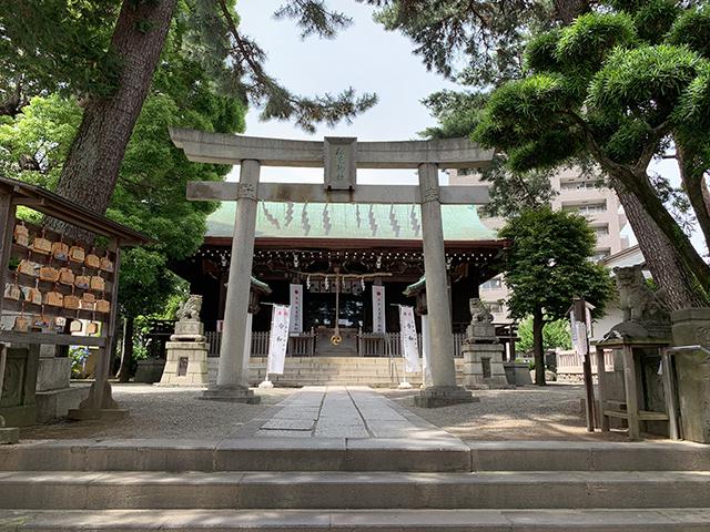 松原神社写真