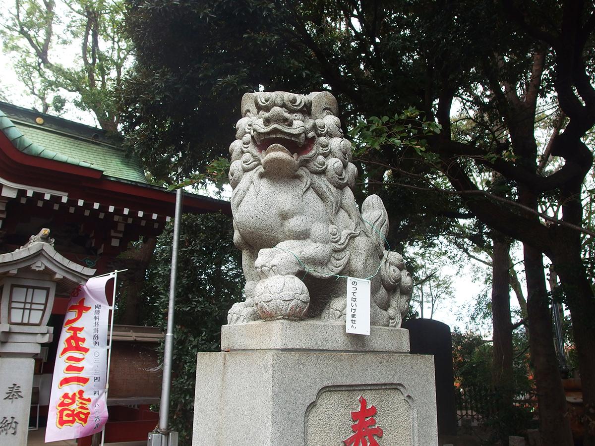 駒繋神社写真