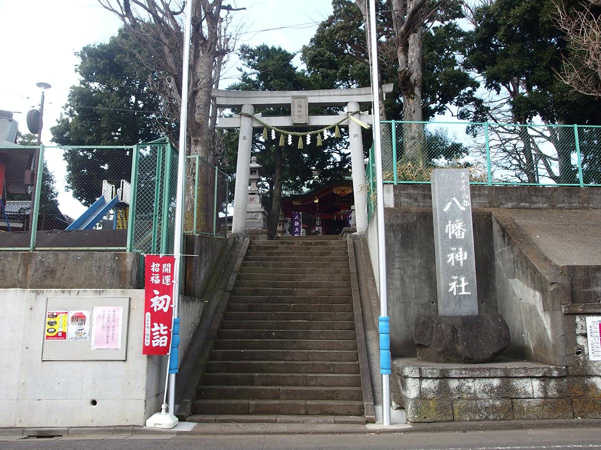 久が原西部八幡神社写真