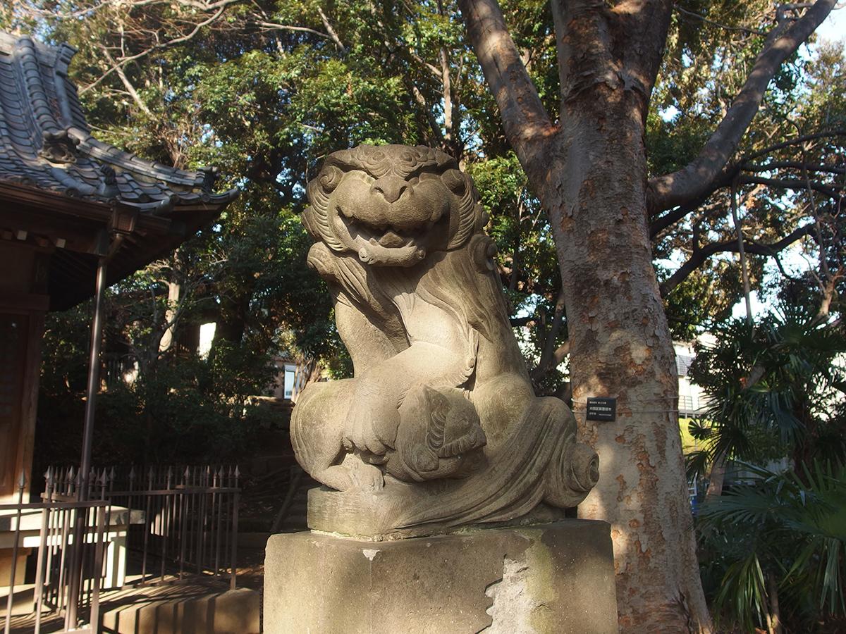 湯殿神社(大田区南馬込)写真