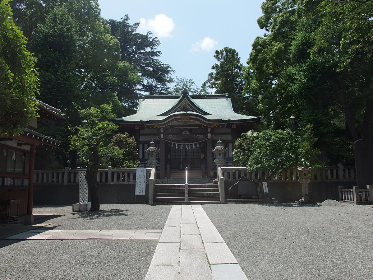 千草台杉山神社写真