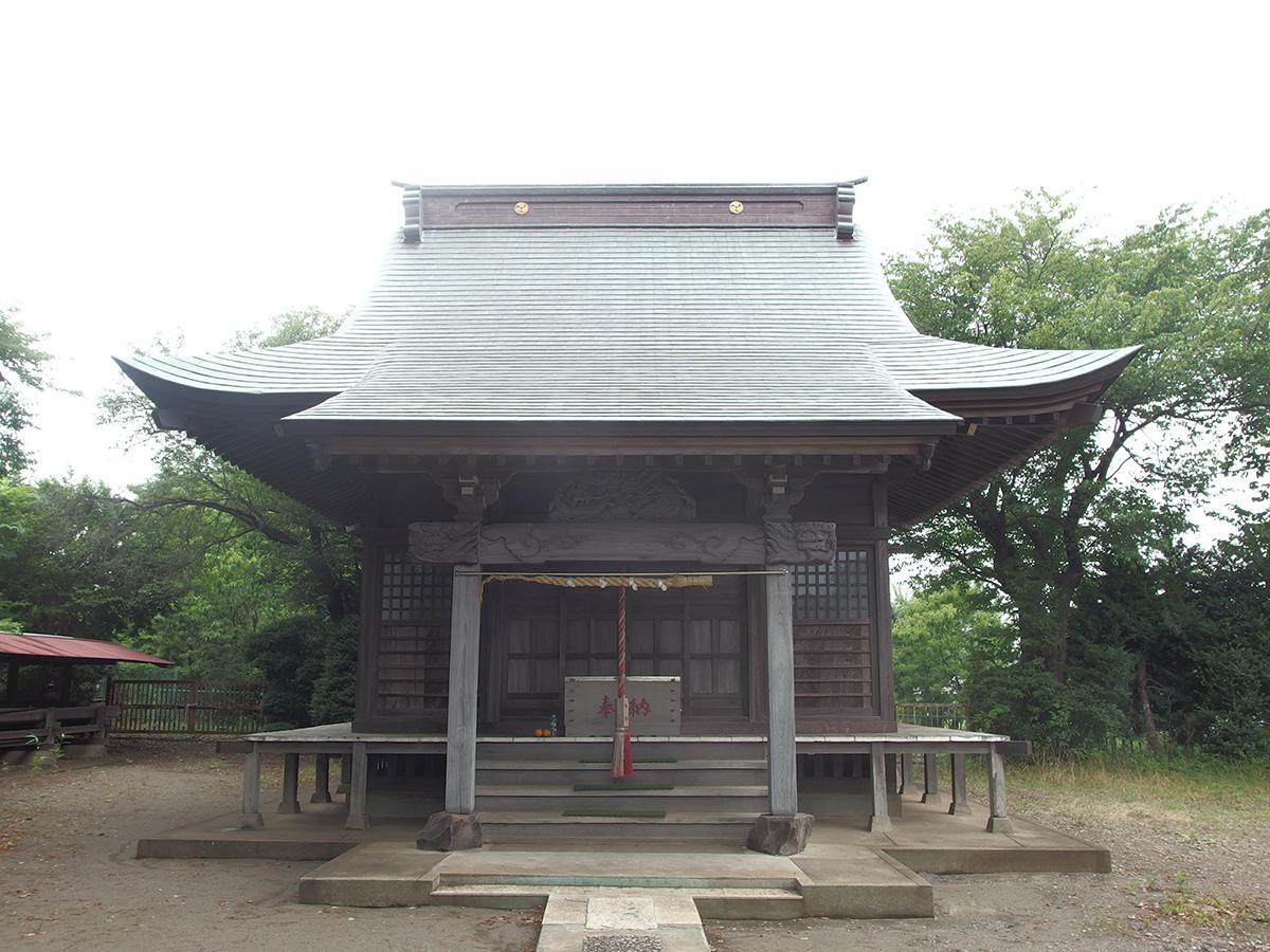 新治神明社写真
