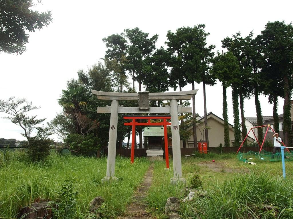 大六天稲荷社(横浜市保土ケ谷区西谷町)
