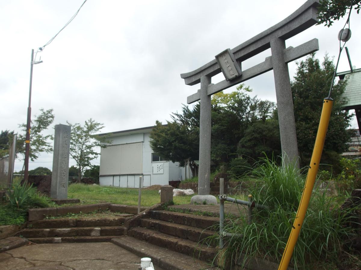 西谷富士山神社写真
