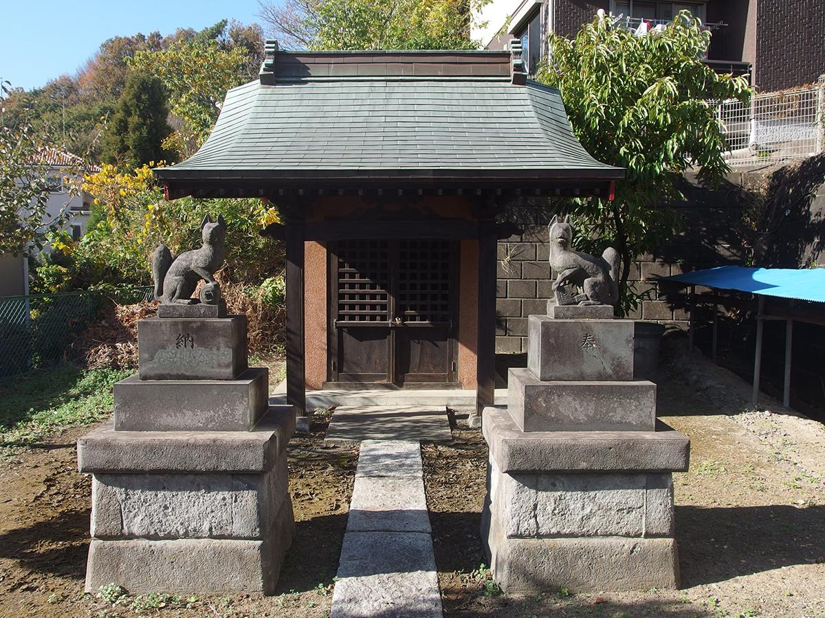 稲荷神社(横浜市旭区川島町)写真