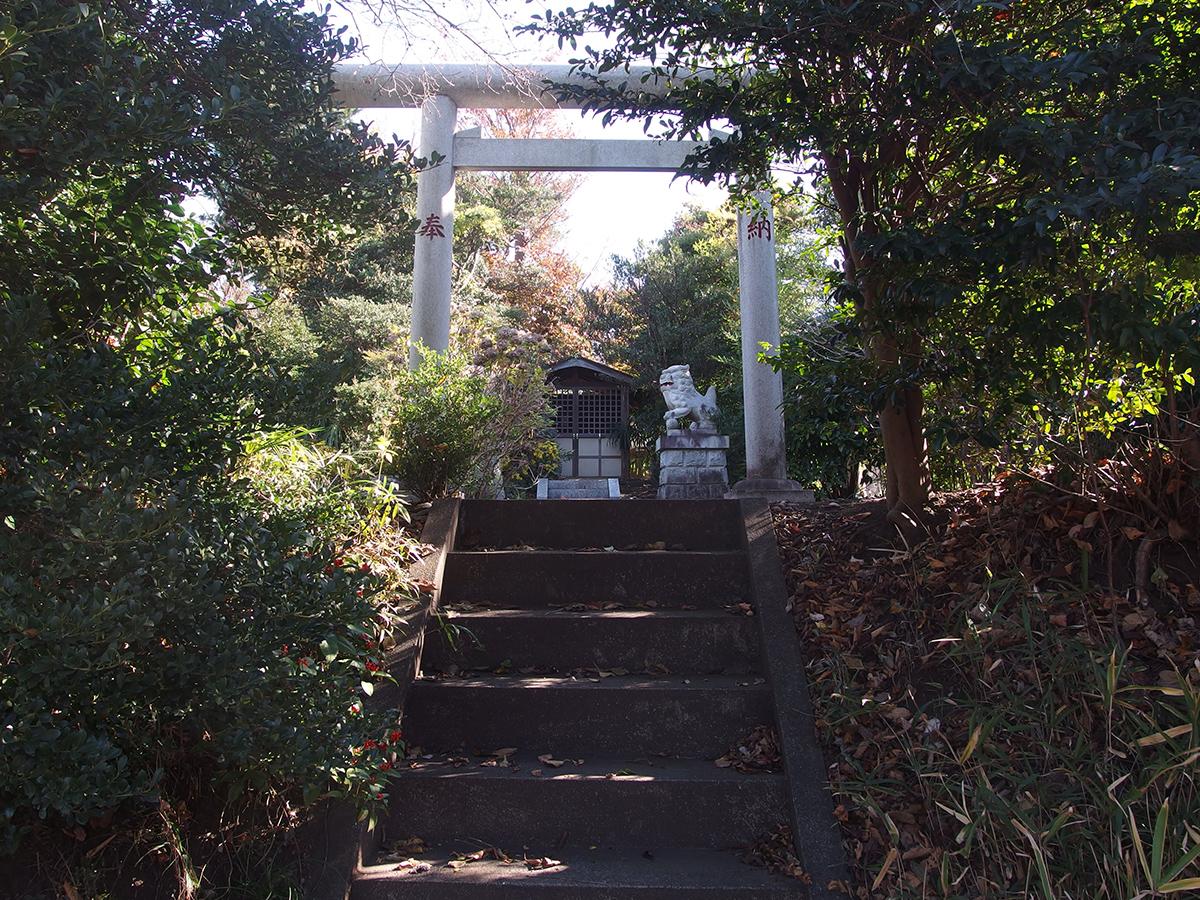 御嶽神社(横浜市旭区西川島町)写真