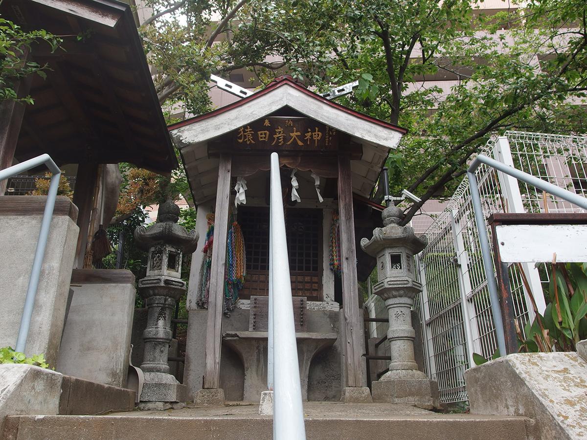 猿田彦大神(横浜市神奈川区新子安)写真