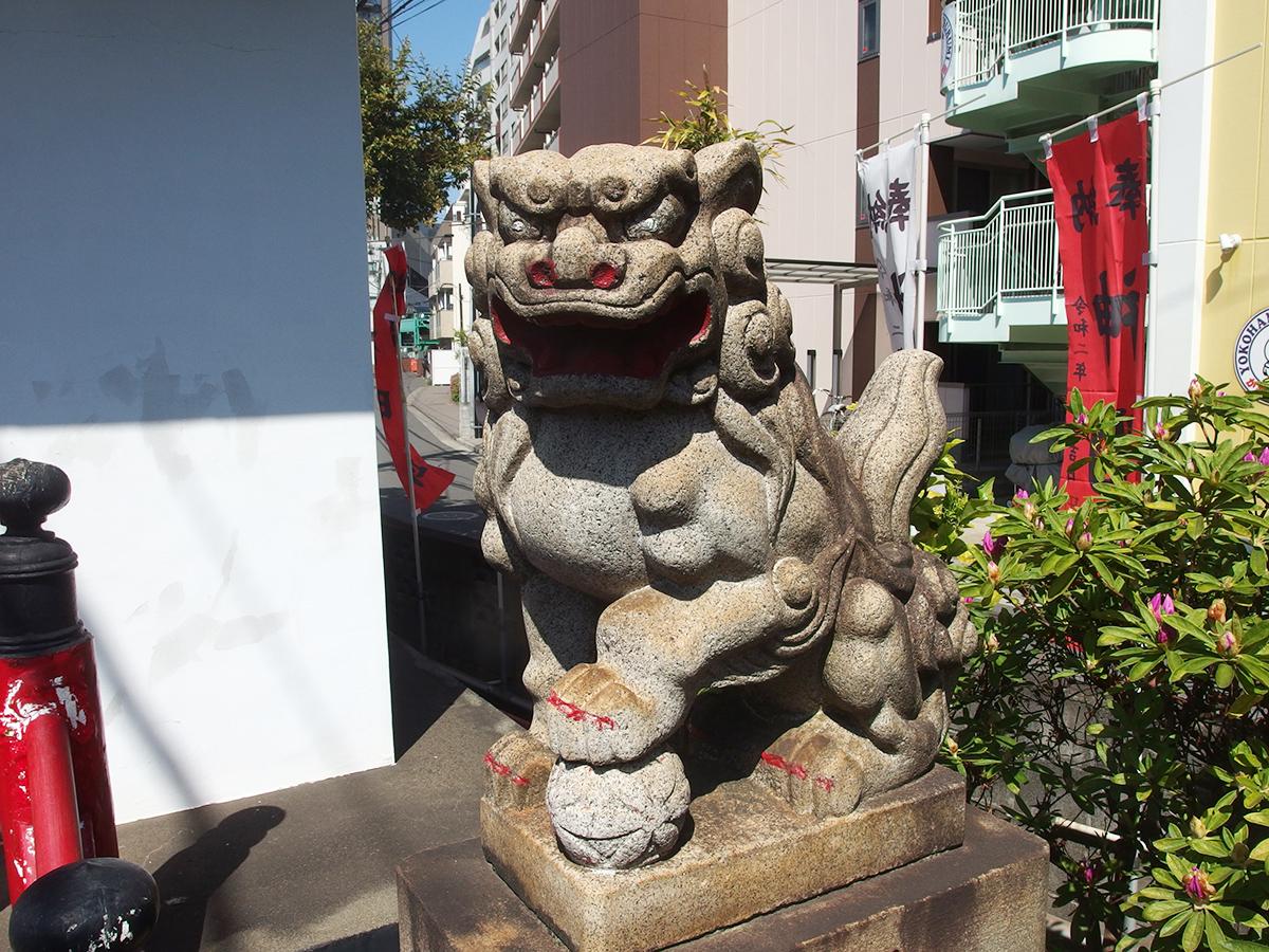 鶴見神明社写真