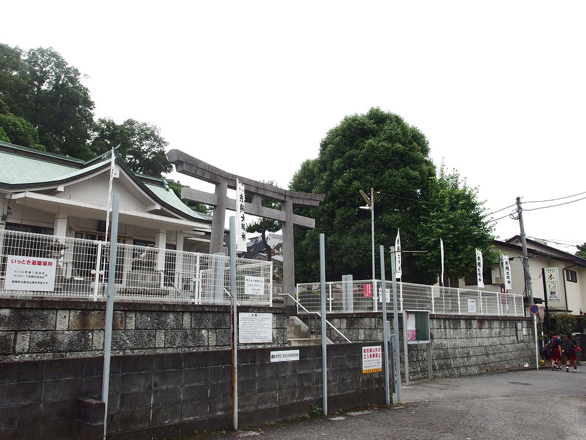 糸縄神社(横浜市南区六ツ川)写真