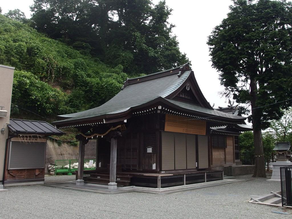 永田春日神社(横浜市南区永田東)